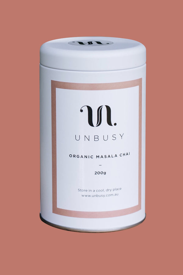 ORGANIC STICKY MASALA CHAI FOR RETAIL - UNBUSY