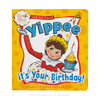 Scout Elves Present Yippee It's Your Birthday!: Front of Book