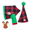 Claus Couture Collection® Playful Reindeer PJ's: Jacket and Nightcap