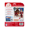 Claus Couture Collection® Fa-La-La Reindeer Pajamas: Back of Packaging