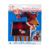 Claus Couture Collection® Fa-La-La Reindeer Pajamas: Front of Packaging