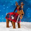 Claus Couture Collection® Fa-La-La Reindeer Pajamas: Lifestyle Shot