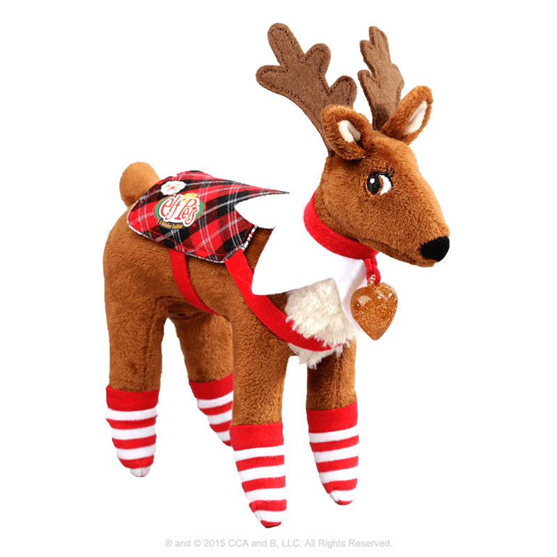 Claus Couture Collection® Polar Pattern Set for Reindeer: Outfit on Reindeer