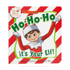 Scout Elves Present Ho-Ho-Ho It's Your Elf!: Front of Book
