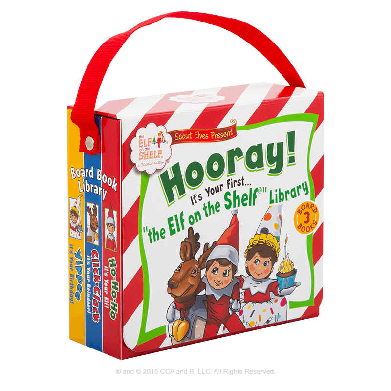 Scout Elves Present Hooray! It's Your First…The Elf on the Shelf® Library