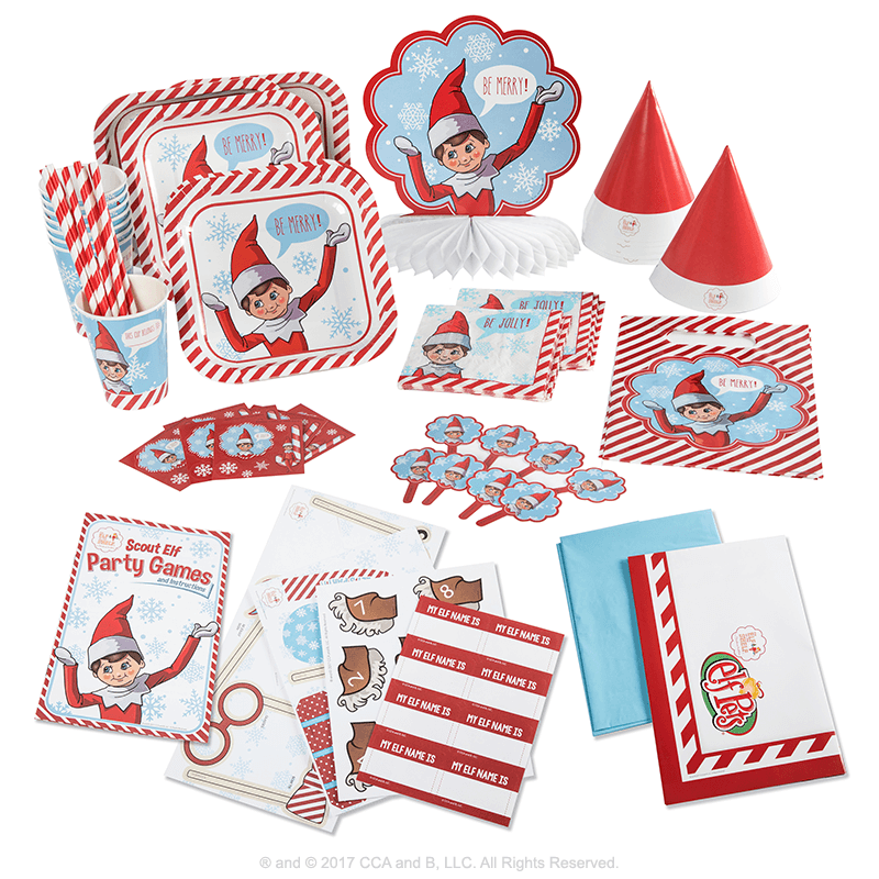 Scout Elf Party Pack Santas Store The Elf On The Shelf
