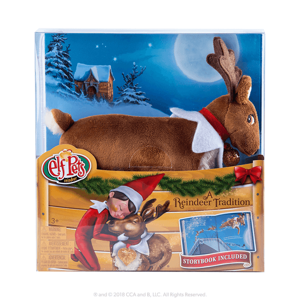 Elf Pets 174 A Reindeer Tradition The Elf On The Shelf