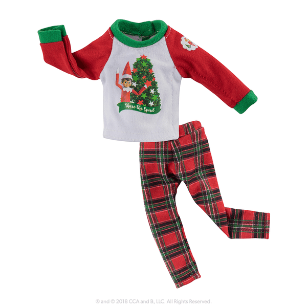 0610b6e86a Claus Couture Collection® Festive Flannel PJ s - Santa s Store  The Elf on  the Shelf®
