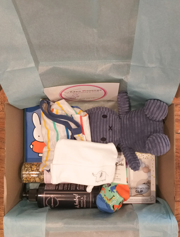 Baby Boy and Mum Gift Box