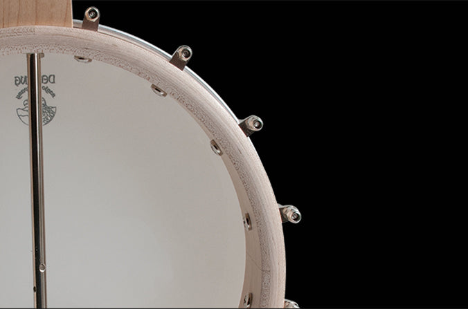 3 ply maple rim banjo