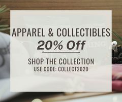 Deering apparel and collectables sale 2020