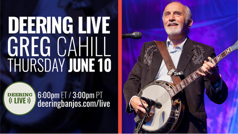 Greg Cahill on Deering Live