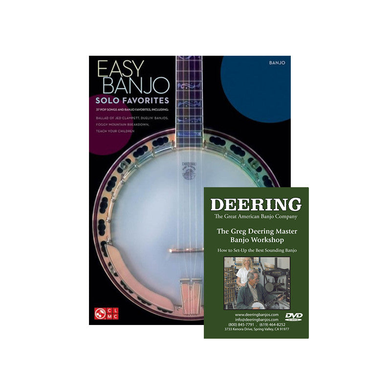 Deering 5-String Learning Package