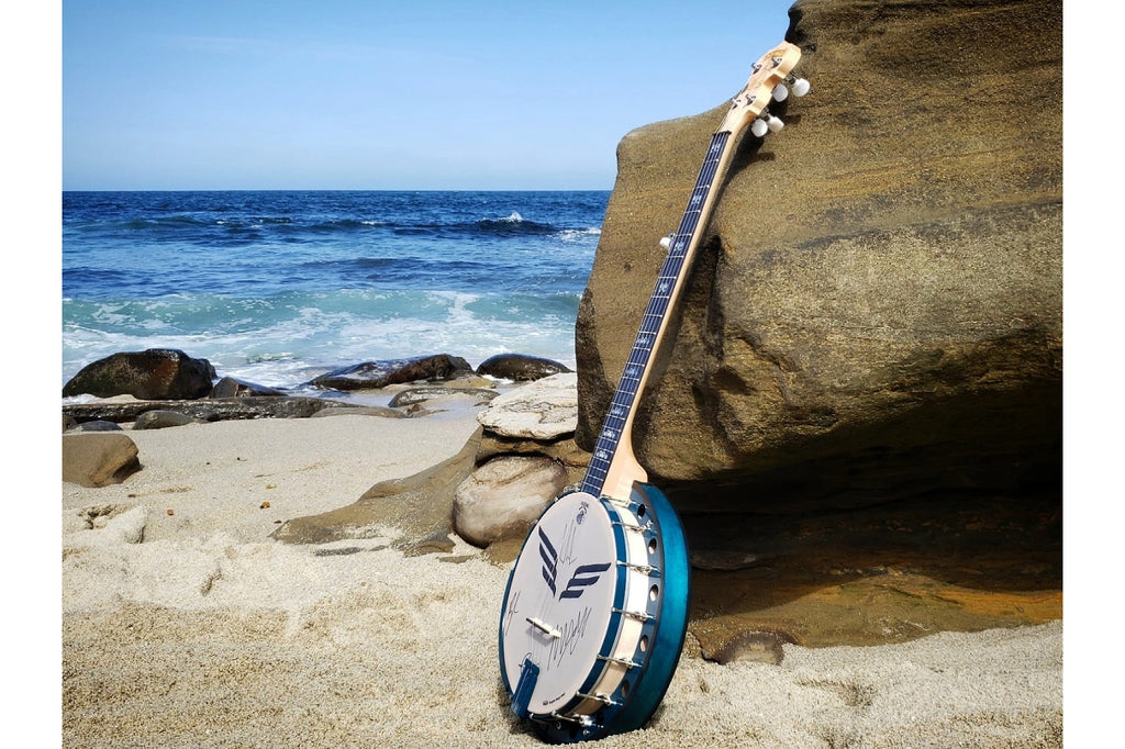 San Diego Charity Banjo at La Jolla Beach