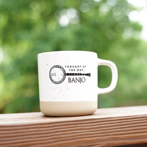Deering Banjo Thoughts Mug Front