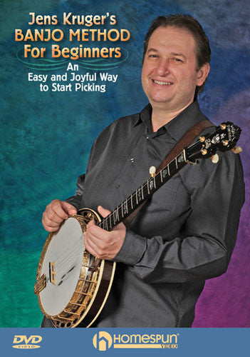 Jens Kruger Banjo Method For Beginners DVD