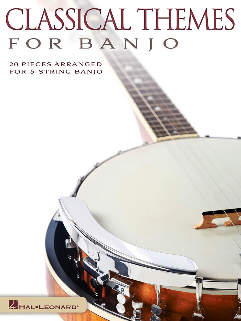 Classical Themes For Banjo Book