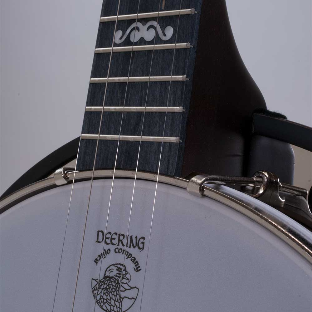Artisan Goodtime Special Banjo - neck joint front