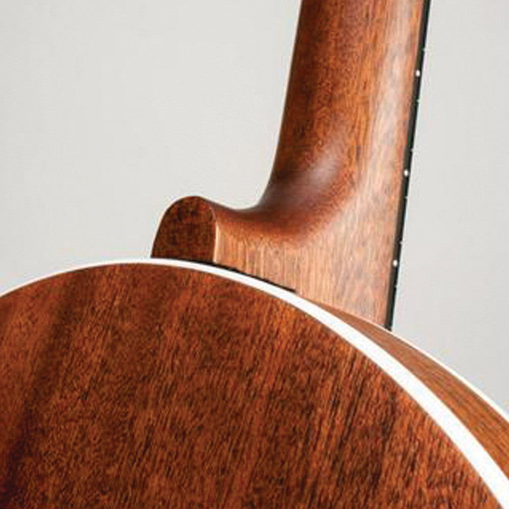 Deering Boston Plectrum - neck joint back