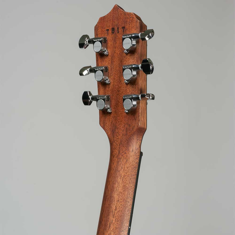 Deering Boston 6-String Banjo - peghead back