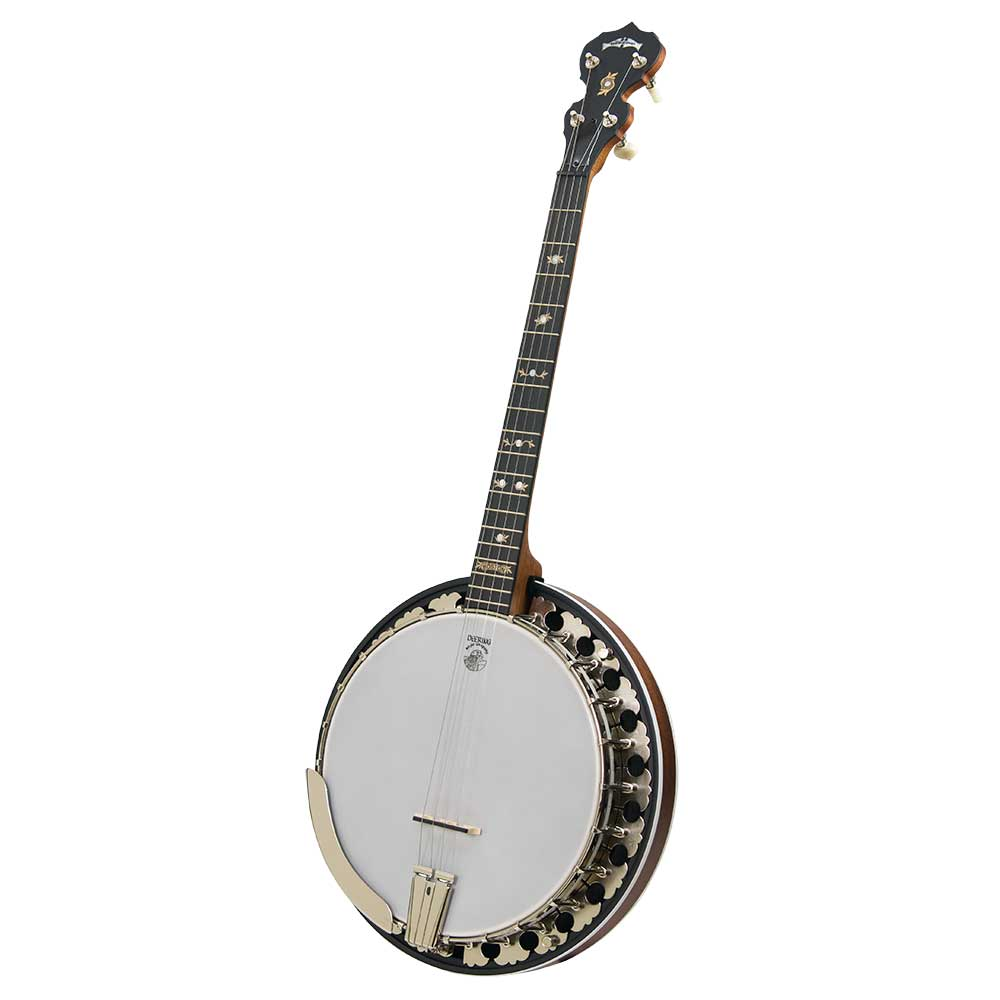 Deering Boston 17 Fret Tenor Banjo Front