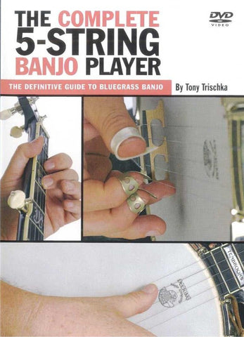 The Complete 5-String Banjo Player by Tony Trischka DVD