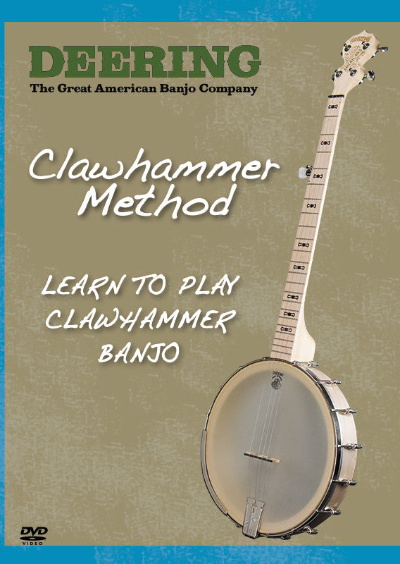 Deering Clawhammer Method DVD