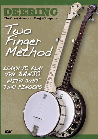 Deering Two Finger Method DVD