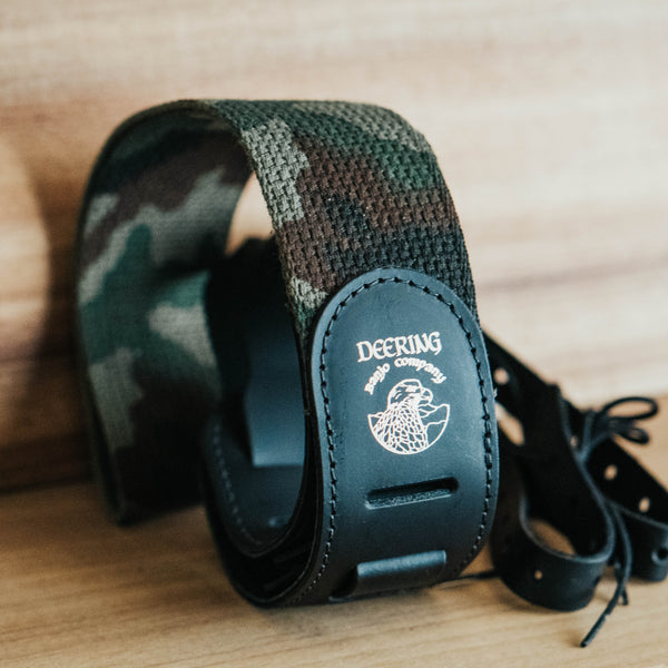 Cotton Camo Cradle Strap Side View