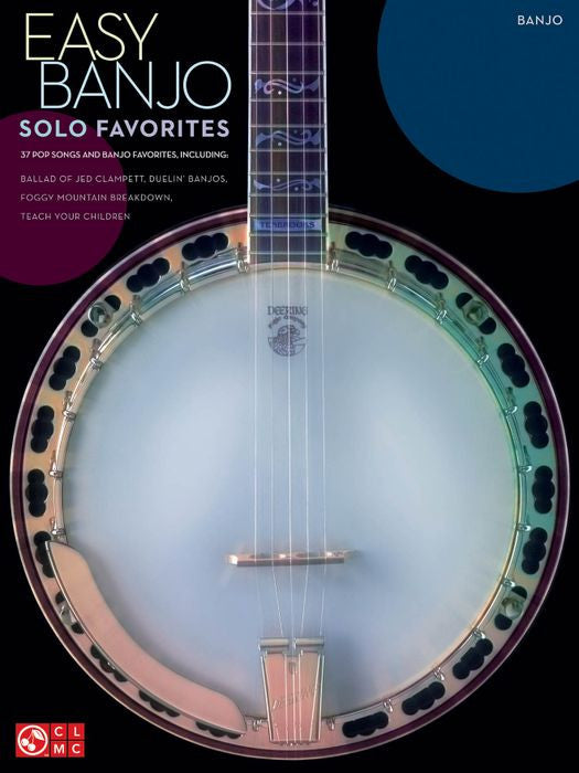 Easy Banjo Solo Favorites Book