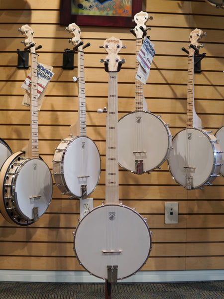Goodtime Fret-less with a Scoop Banjo | Showroom