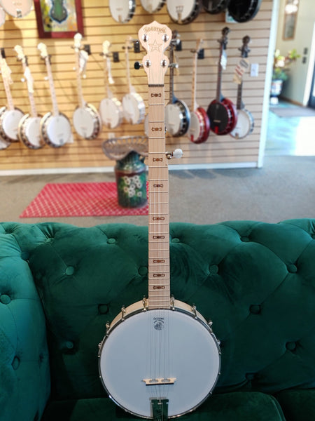 Goodtime Openback Left Handed Banjo | Showroom Banjo