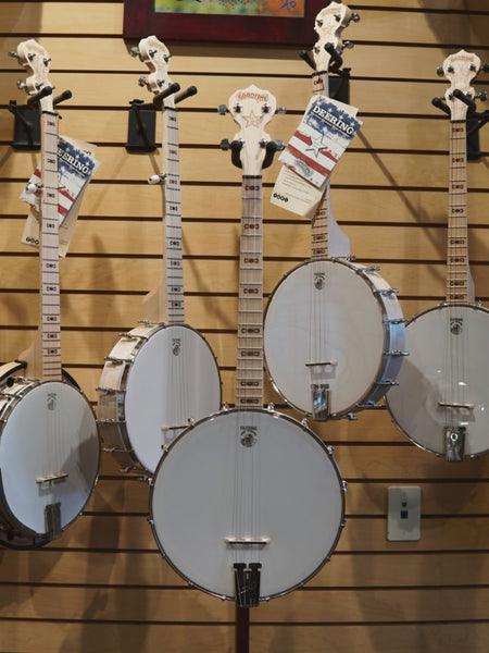 Goodtime 17 Fret Tenor Openback Banjo | Showroom