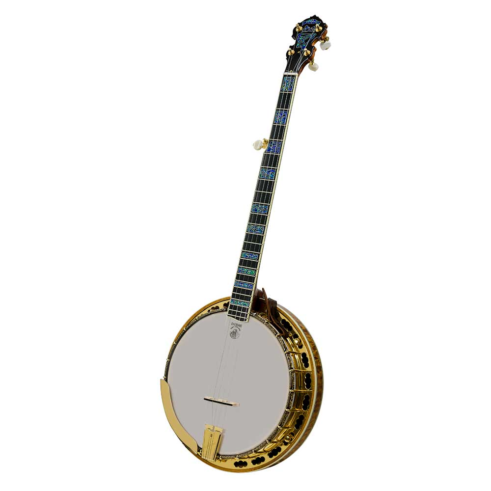 Tony Trischka Golden Clipper Banjo - front