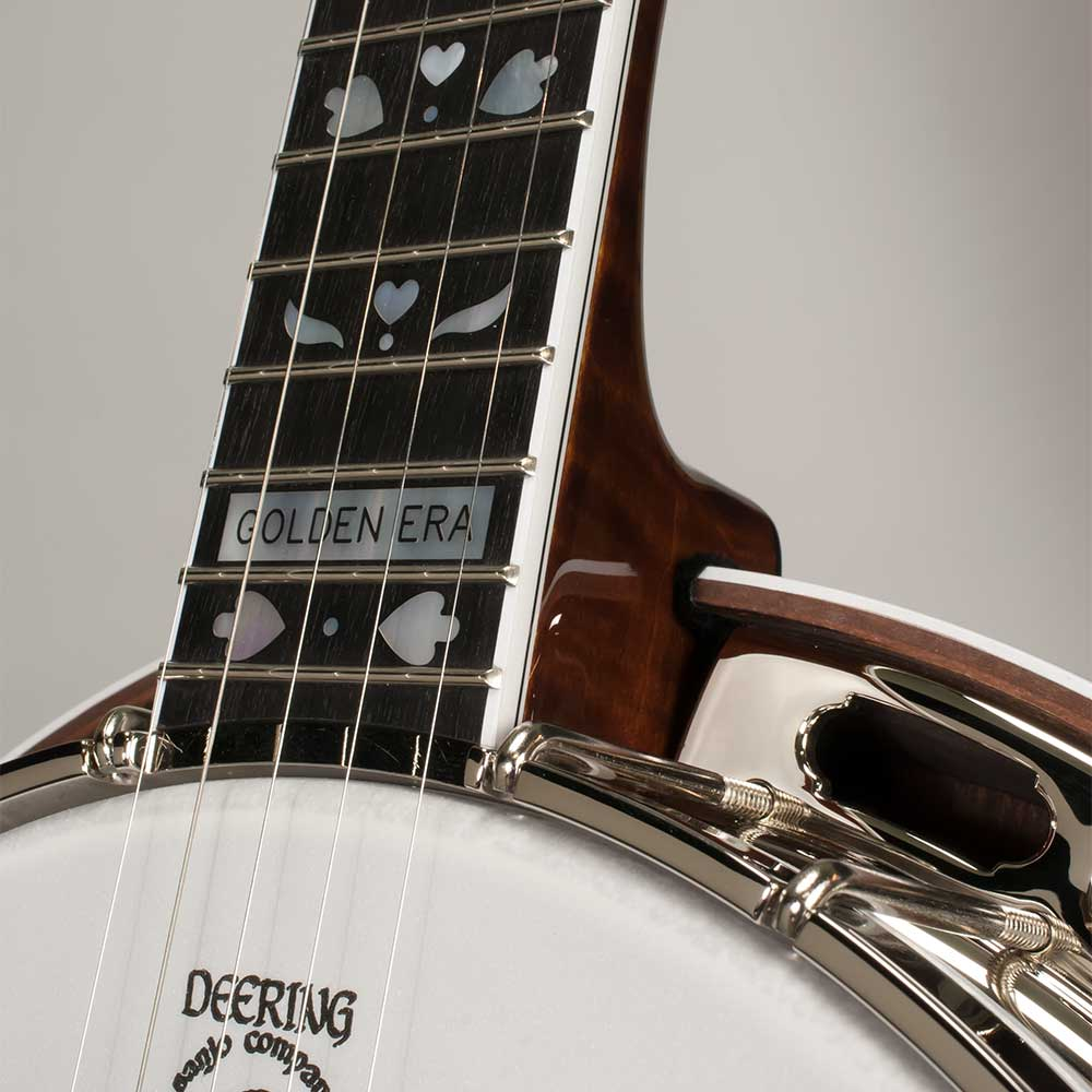 Deering Golden Era 5-String Banjo - neck joint front