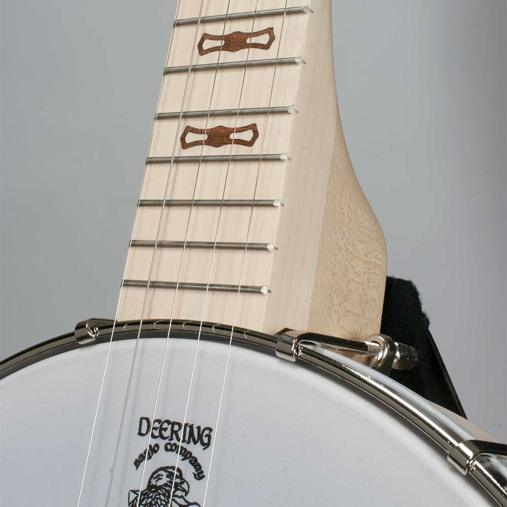 Goodtime Special Openback Banjo - neck joint front