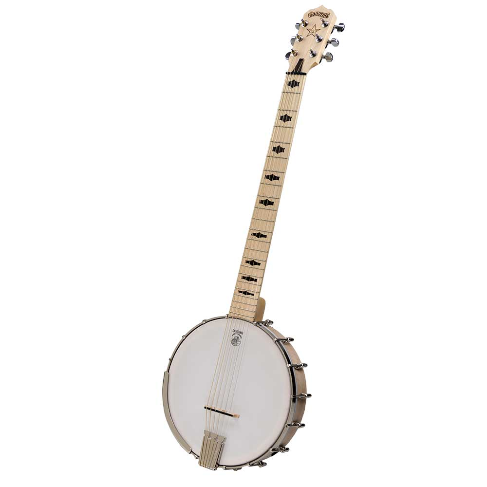 Goodtime Six 6 String Banjo - front