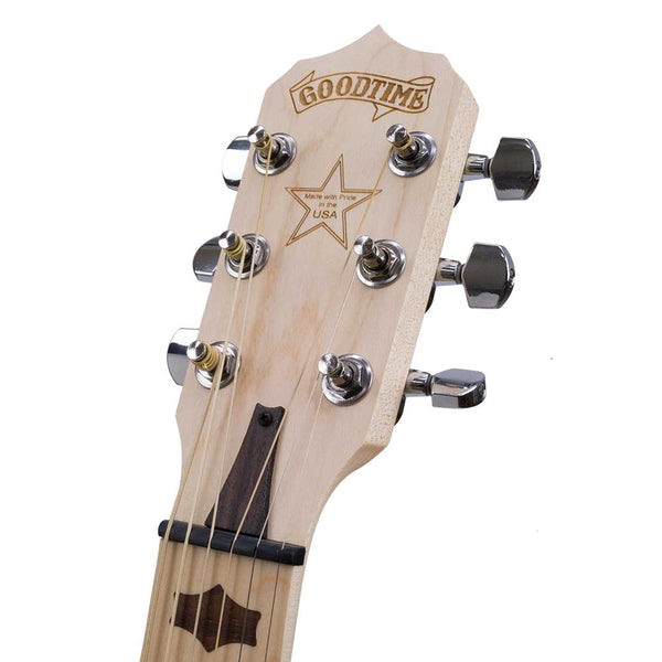 Goodtime Six 6 String Banjo - peghead front