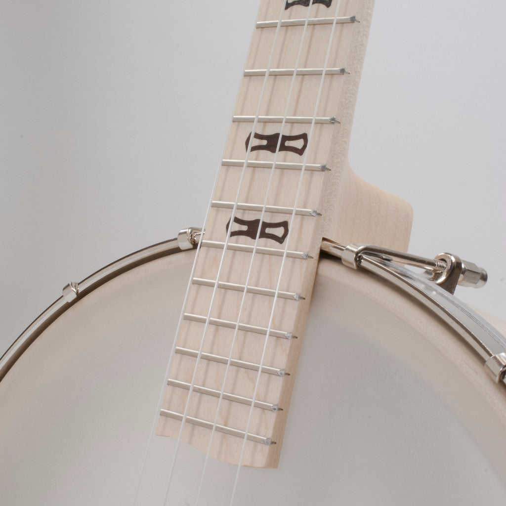 Deering Goodtime Banjo Ukulele Tenor Scale - fingerboard and pot