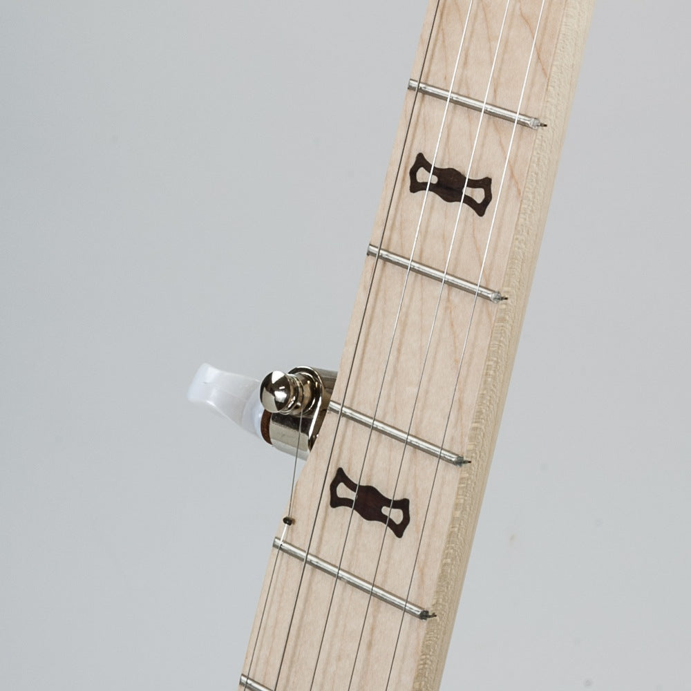 Deering Goodtime Acoustic Electric banjo - fingerboard 1