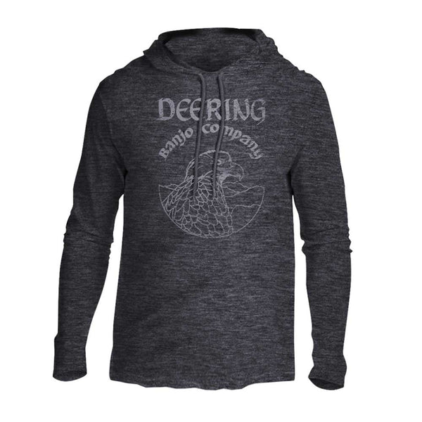 Deering Long-Sleeve Lightweight Hooded T-Shirt front