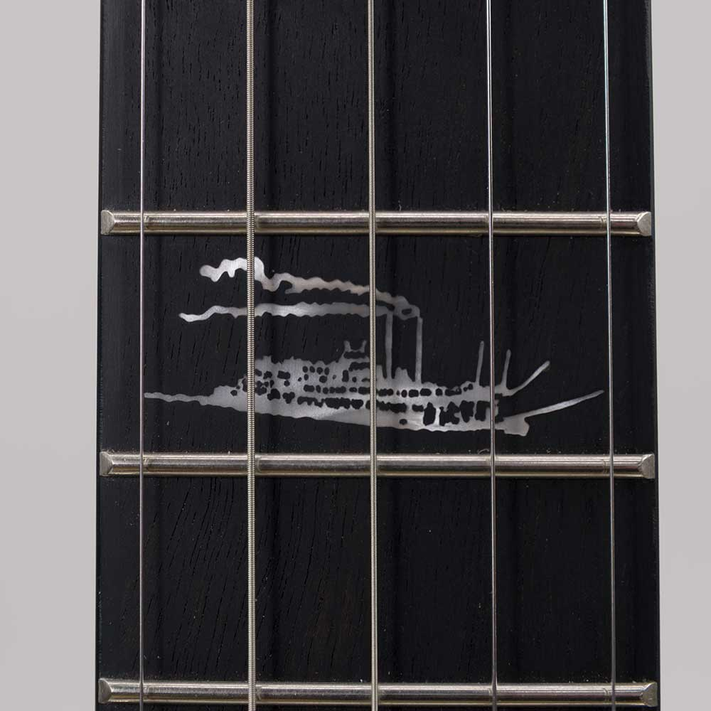 Julia Belle Low Banjo Riverboat Inlay