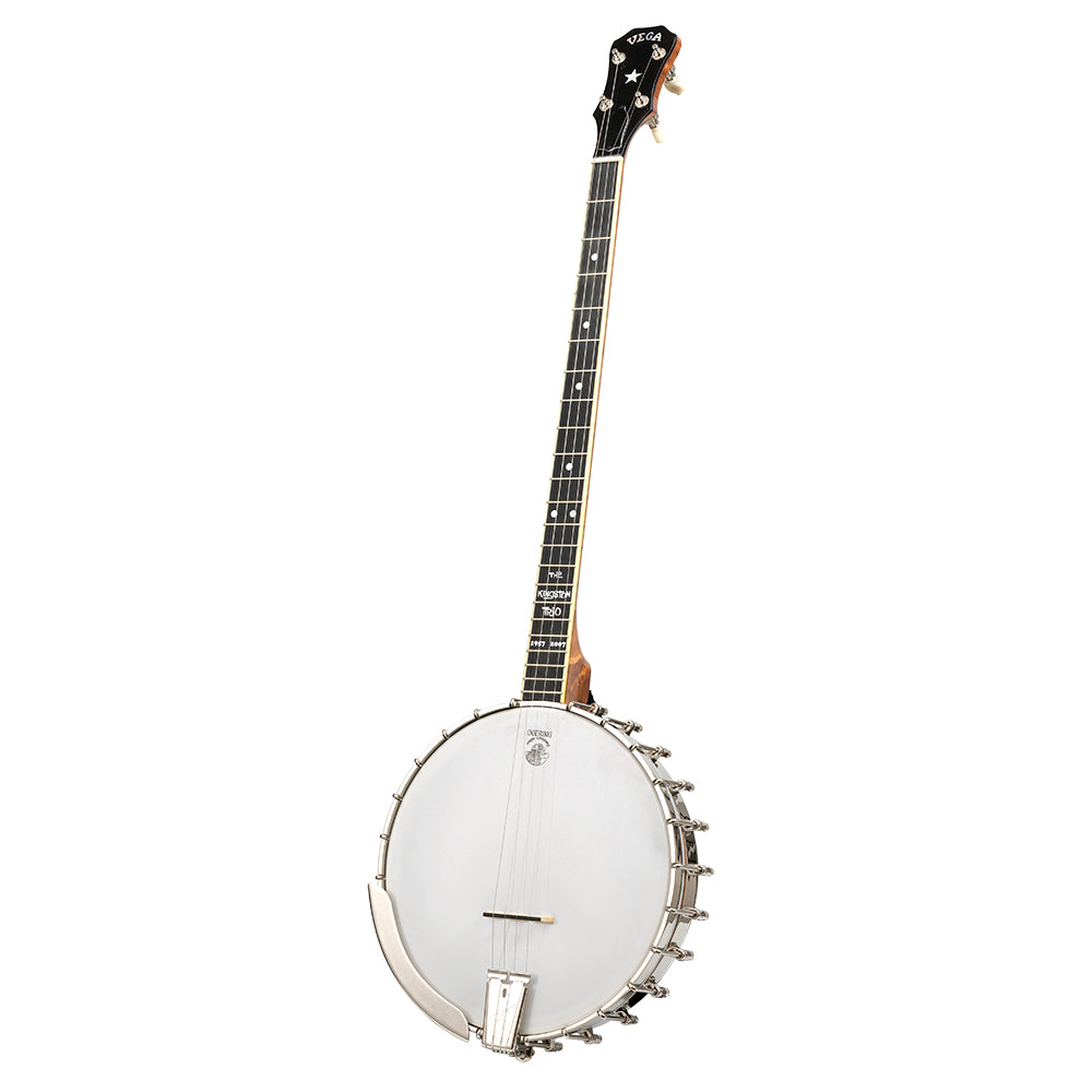 Vega Kingston Trio Bob Shane Plectrum banjo - front angle