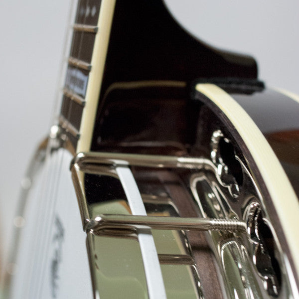 Tenbrooks Legacy Banjo - neck and pot side