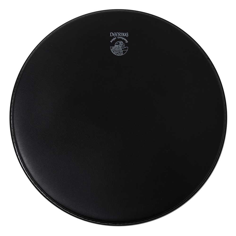Black Matte Banjo Head