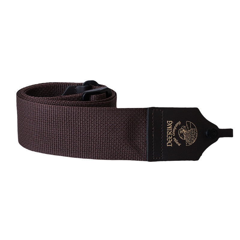 Deering Nylon Banjo strap - brown