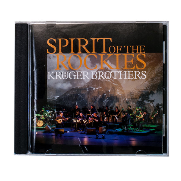 Kruger Brothers CD- Spirit of The Rockies