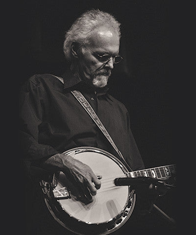Terry Baucom with his signature Deering Banjo