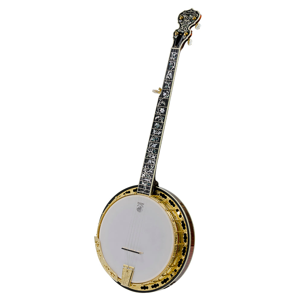 Deering Tree Of Life banjo - Front