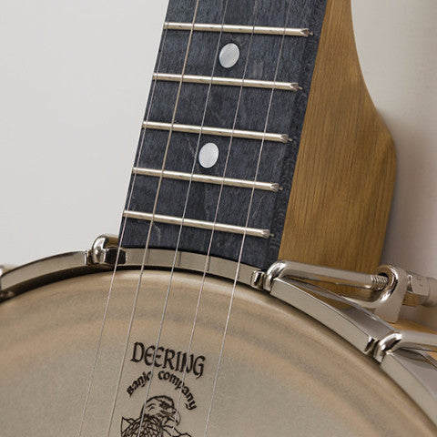 "Vega White Oak open back 11"" banjo pot neck"
